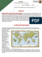 Historia 5° básico guia II Unidad clase 4 tratados y empresa de conquista.pdf