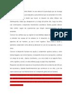 DESARROLLO PERCEPTUAL Y PSICOMOTRIZ EN LOS PRIMEROS AÑOS