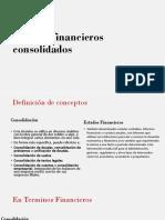 Estados Financieros Consolidados NI C27