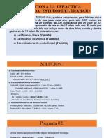 SOLUCION A LA  I PRACTICA CALIFICADA DE ESTUDIO DEL TRABAJO.pptx