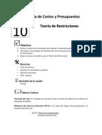 Guia 10 Teoría de Restricciones  (1)
