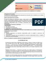 4to_Argumentamos propuestas de actuación de la ciudadanía en el cuidado y prevención de enfermedades  27 4TO