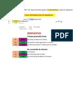 Simulacion - Examen Final Semana 8 - Ejercicios Excel