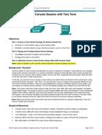 2.1.4.9 Lab - Establishing a Console Session with Tera Term.pdf