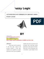 AUTOMATION OF UMPIRING IN CRICKET USING FUZZY LOGIC