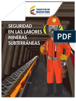 7. MANUAL DE SEGURIDAD EN LABORES SUBTERRÁNEAS