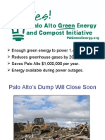 Palo Alto Green Energy Initiative Presentation