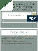 PEMAPARAN PROGRAN P2P