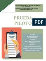 CRONOGRAMA DE ACTIVIDADES DE INVESTIGACIÓN