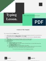 Typing Lesson by Slidesgo.pptx