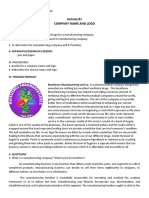 Manufacturing lab manual