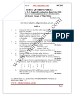 VTU ADA MODEL QUESTION PAPER