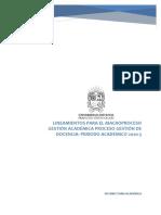 Lineamientos gestion docencia 2020-3