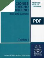LECCIONES DE DERECHO CIVIL CHILENO TOMO I DEL ACTO JURIDICO - Barcia Lehmann, Rodrigo.pdf