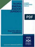 TEORÍA GENERAL DEL NEGOCIO JURÍDICO - Dominguez Aguila, Ramón.pdf