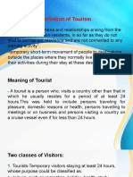 The Meaning and Importance of Tourism