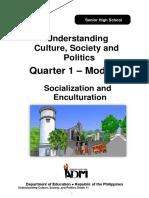 UnderstingCulture12_Q1_Mod8_SocializationAndEnculturation_v3