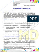 UNIDAD 1 MATEMÁTICA FINANCIERA