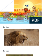 Les animaux sauvages fawowe