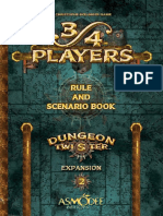 Dungeon Twister Rules 2 - 3-4 Players