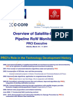 Overview of Satellite-based Pipeline RoW Monitoring 2014