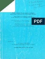 1986 ricerca ecologica grotta marina bergeggi (diviacco)