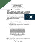 CINETICA OSMOTICA DE LA HIDRATACION DE GARBANZOS