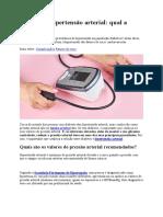 Diabetes e hipertensão arterial