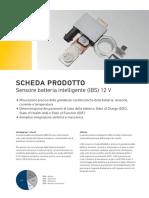 Schema sensore IBS