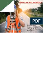 Unit I surveying and Geomatics