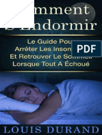 Comment S'Endormir_ Le Guide Po - Louis Durand.epub