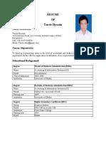 tanvir's resume FINAL