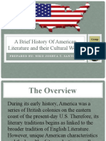 American Literature, B, Crawford   American Literature   Transcendentalism
