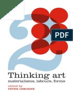Thinking Art