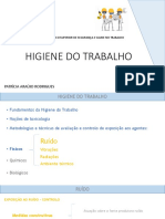 HIGIENE DO TRABALHO Aula 4