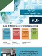 les chromatographies