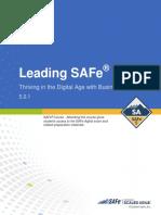 Leading SAFe Digital Student Workbook (5.0.1)
