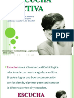 ESCUCHA ACTIVA - SABER ESCUCHAR - Adaptac JCR 2011