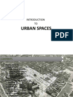 Introduction to Urban Spaces