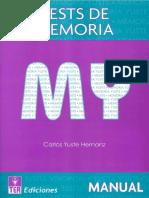 Manual Tests de Memoria (MY).pdf