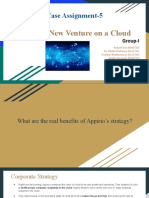 Group I Case Assignment-5 Appirio_ New Venture on a Cloud