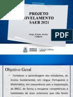 PROJETO NIVELAMENTO - SAEB 2021