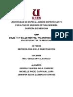 COVID- 19 Y SALUD MENTAL_ TRASTORNO DE ANSIEDAD EN ESTUDIANTES DE MEDICINA