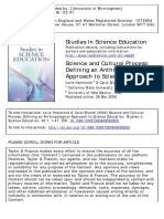 2004, Science and Cultural Process- Defining an Anthropological Approach to Science Education
