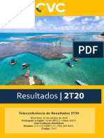 Resultados Do 2T20 - Release