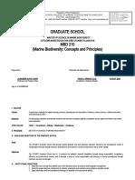 FINAL MSMB Syllabus for MBD 210 Marine Biodiversity Concepts and Principles.docx