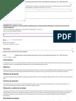 Rehabilitación cognitiva y entrenamiento cognitivo para la enfermedad de Alzheimer y la demencia vascular de estadio temprano - Clare, L - 2003 _ Cochrane Library