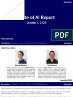 State of AI Report 2020 - ONLINE