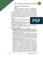 TDR Estudio de Mercado Carnes