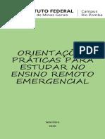 ORIENTAÇÕES PRÁTICAS PARA ESTUDAR NO ENSINO REMOTO EMERGENCIAL_Cintia